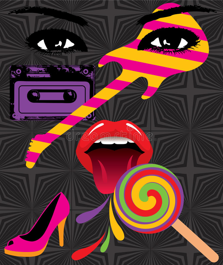 Pop Art stock illustration