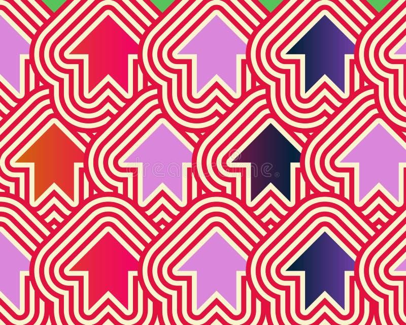 Download Pop Art Arrows Up Red Violet Blue Royalty Free Stock Image - Image: 5345376