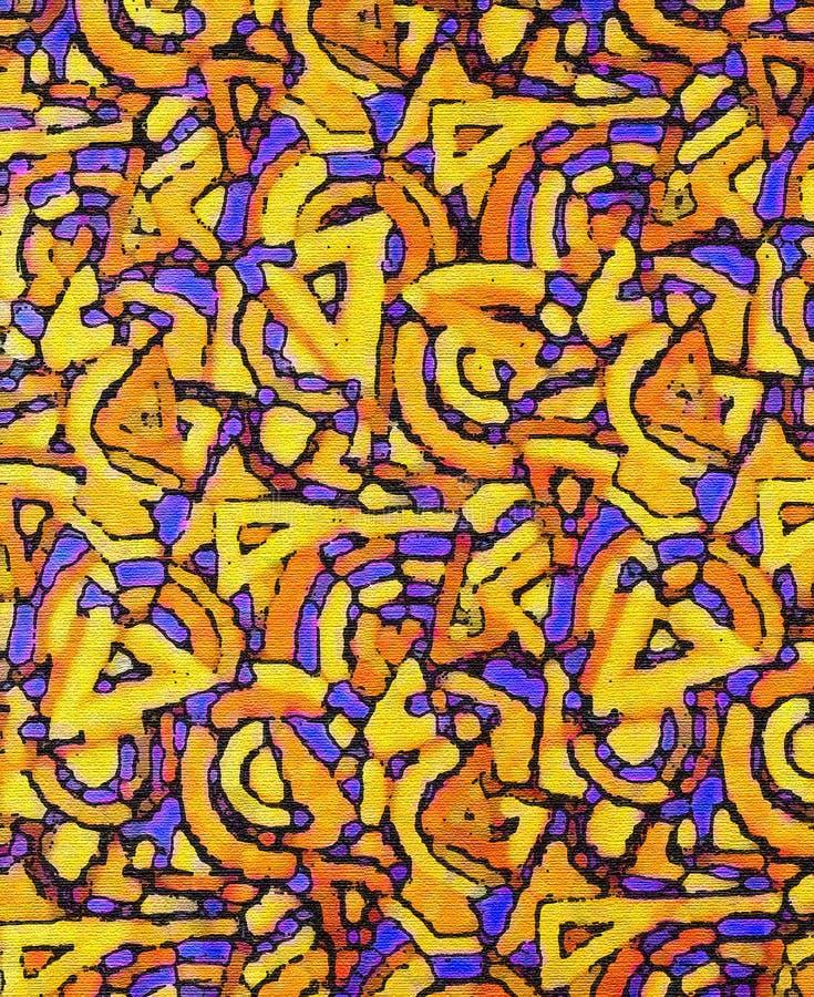Download Pop-art canvas stock illustration. Image of shine, geometric - 504206