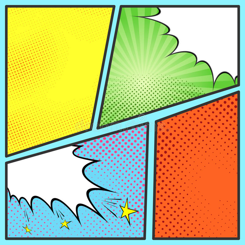 Pop art templates for powerpoint choice image powerpoint for Comic book template powerpoint