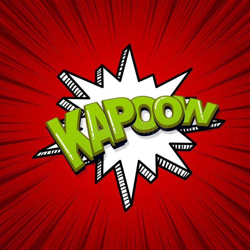 Cartoon Kapow Stock Illustrations – 139 Cartoon Kapow Stock