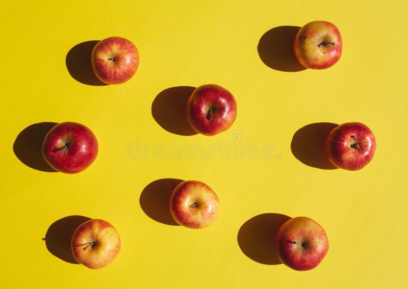 Pop art de Apple imagem de stock