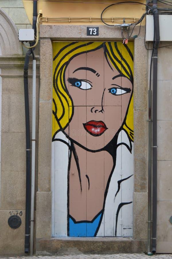 Download The Pop art door editorial stock photo. Image of street - 47194073 & The Pop art door editorial stock photo. Image of street - 47194073