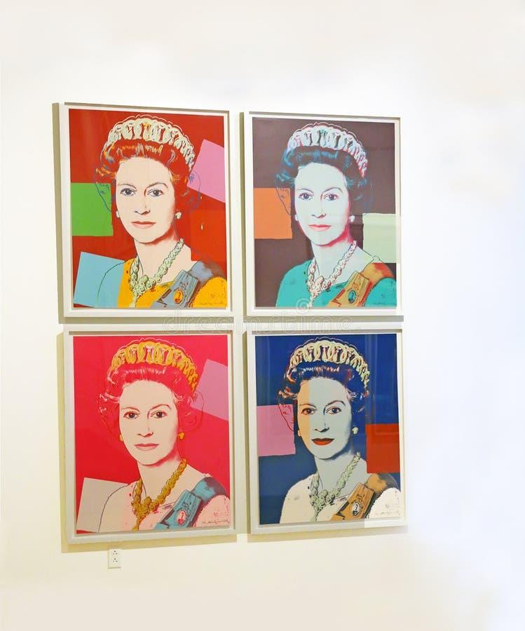 Pop Art Exhibit royalty free stock image