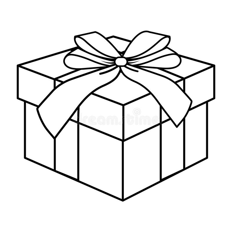 Black White Illustration Of Box - Free Photos