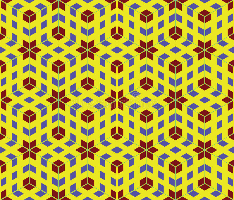 Pop art seamless pattern stock photo