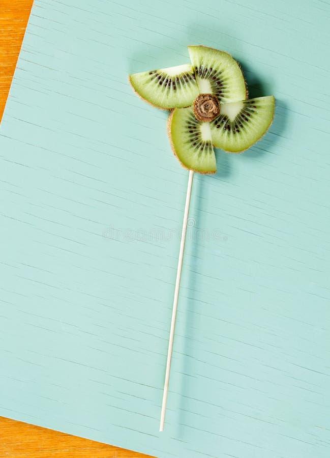 Free Pop Art Still Life. Kwi Pinwheel Royalty Free Stock Image - 82665506