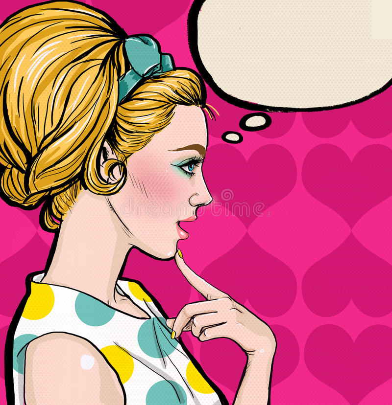 Pop Art women with shoes in the hands.Shopping Time.Sale and discount time. vector illustration