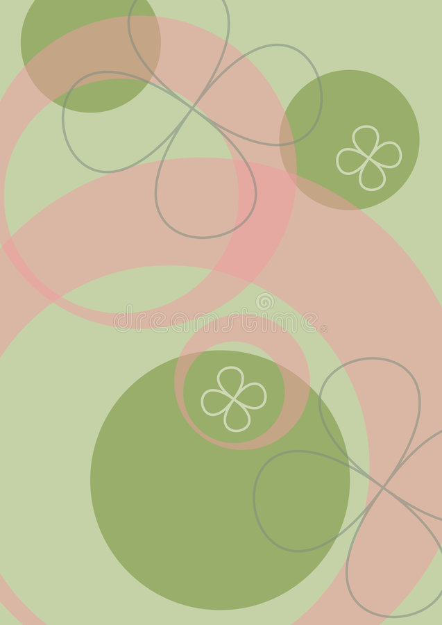 Pop background with flowers vector illustration