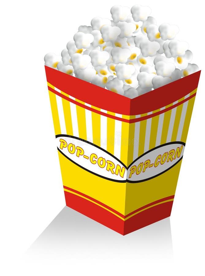 pop corn royalty ilustracja