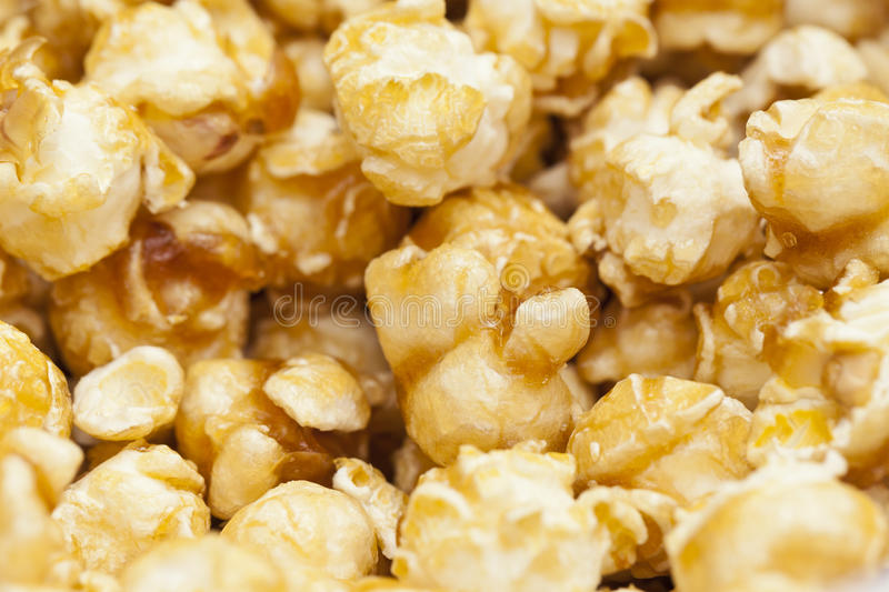 Pop Corn Background Royalty Free Stock Photo