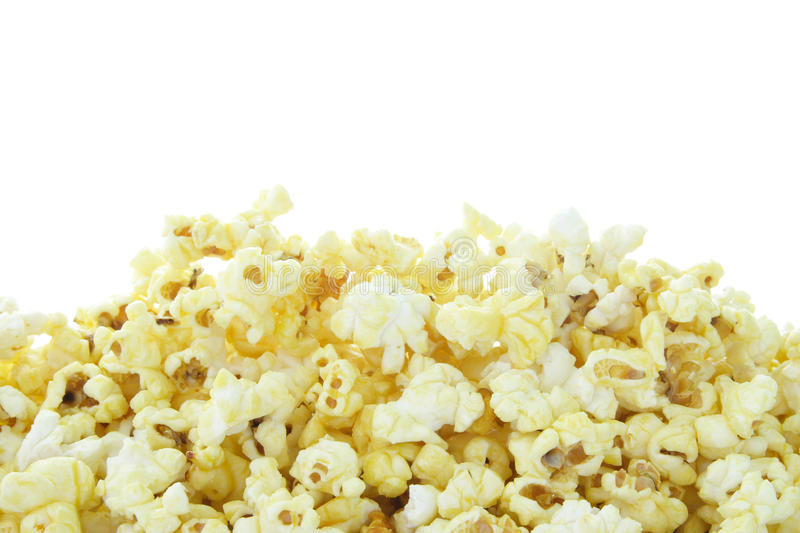 Download Pop Corn isolated on white stock photo. Image of nutrition - 21033036