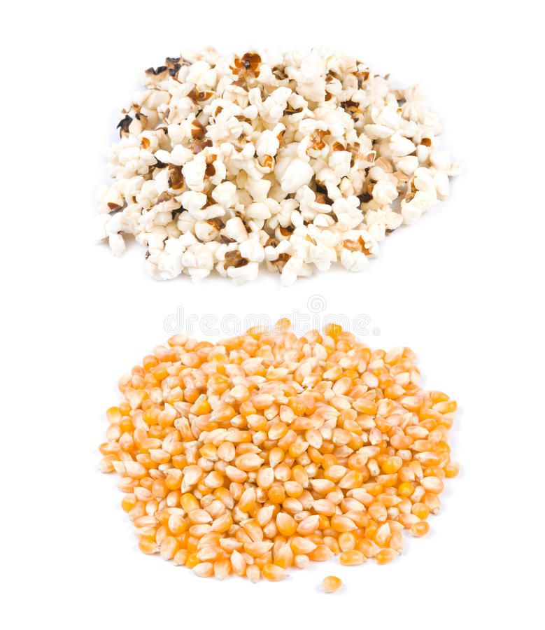 Download Pop Corn, Before And After Pop Stock Photography - Image: 18343412