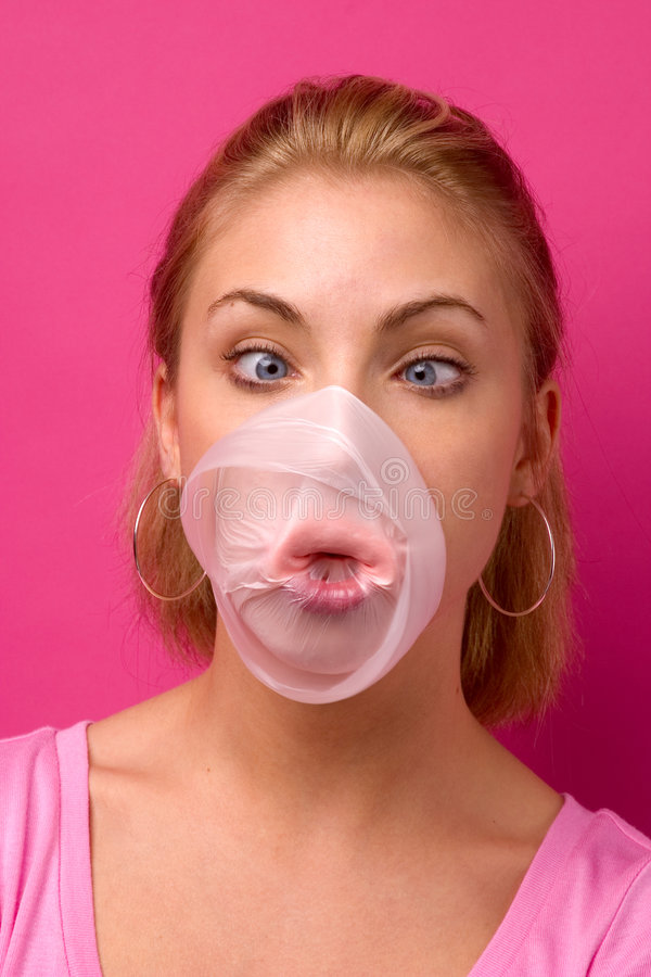 Download Pop goes the bubble stock photo. Image of humorous, expression - 785990