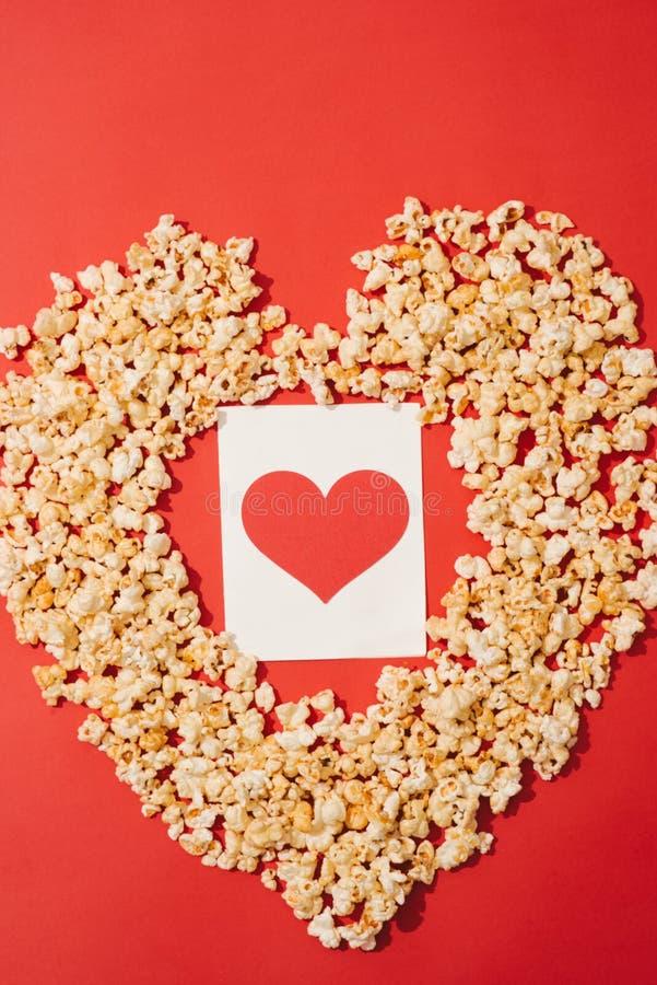 Pop hart met ruimte, vult woorden/concepten, groetkaarten, ove vertellend, visuele mededeling royalty-vrije stock fotografie
