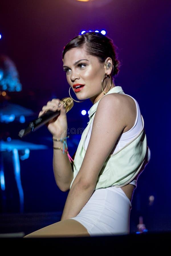 Pop star britannico Jessie J fotografia stock