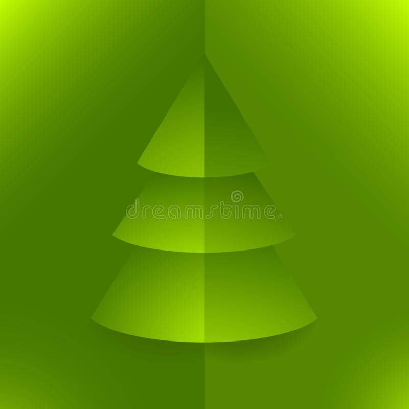 Download Pop Up Christmas Tree Green Stock Vector - Image: 21996408
