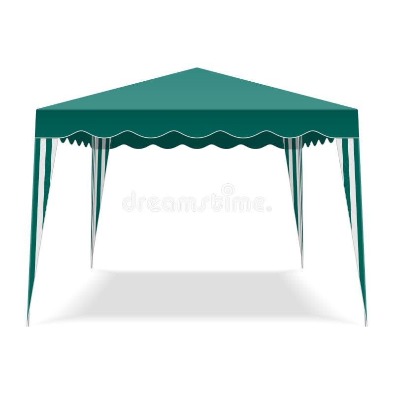 Download Pop Up Gazebo stock vector. Image of camping, vector - 24714573
