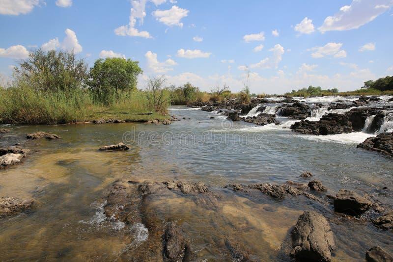 Download Popa Falls stock photo. Image of bush, nambia, okavango - 36061954