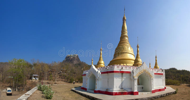 Popa Mount Stock Photo