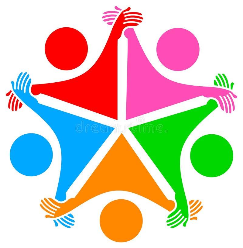 poparcie symbol royalty ilustracja