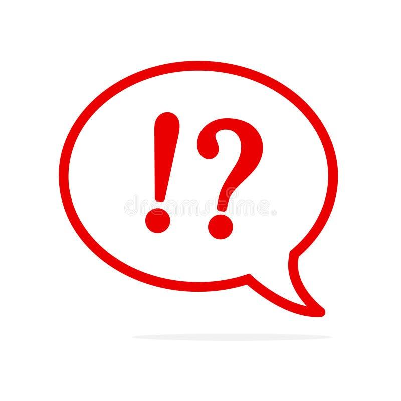 Poparcie symbol w mowa bąblu! Wektorowy płaski ikona projekt Online komunikacje i networking royalty ilustracja