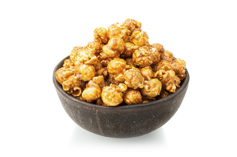 Popcorn καραμέλας στοκ φωτογραφία με δικαίωμα ελεύθερης χρήσης