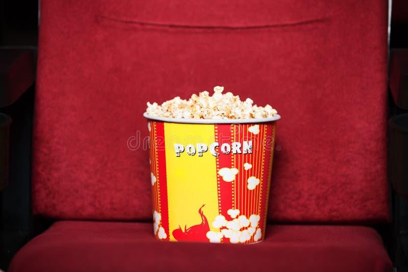 popcorn κιβωτίων στοκ φωτογραφία