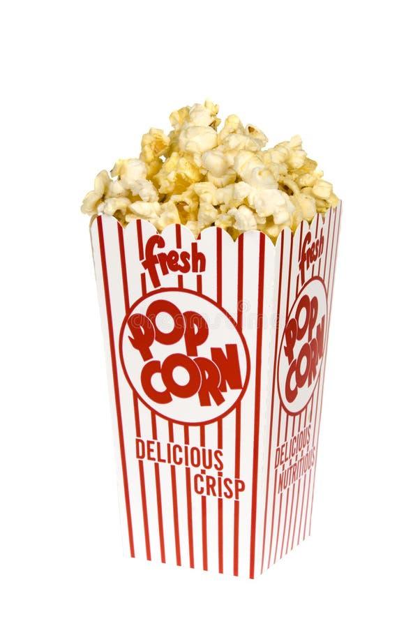popcorn κιβωτίων στοκ εικόνες