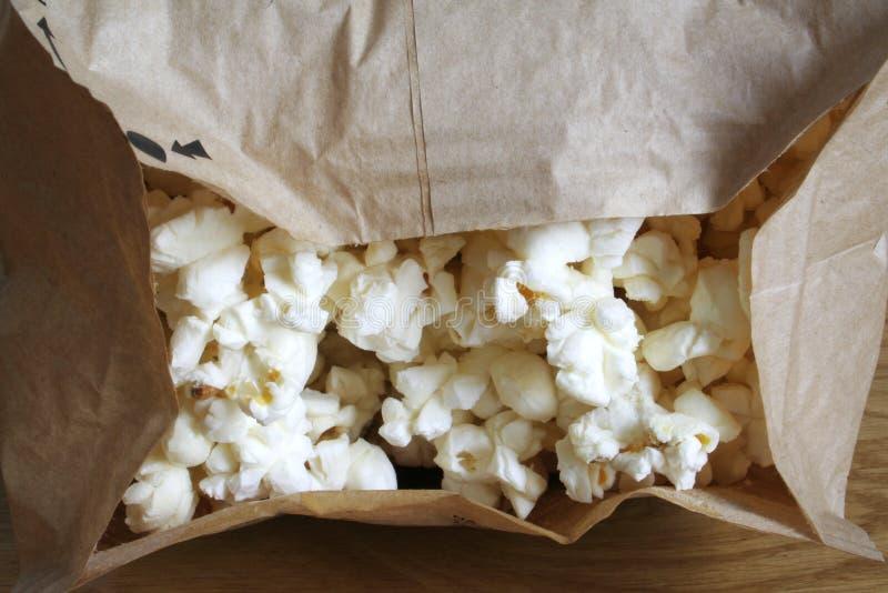 popcorn μικροκυμάτων στοκ εικόνα