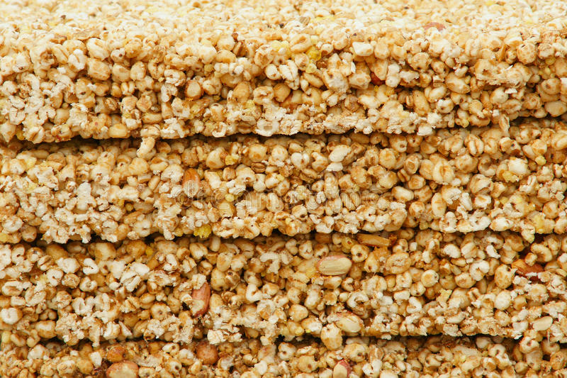 Popcorn σίτου στοκ φωτογραφία