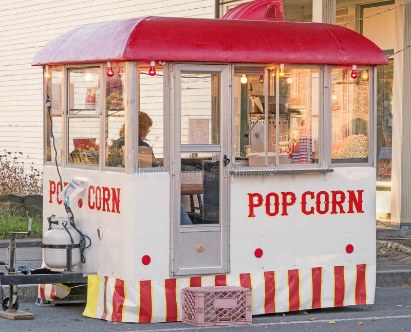 Popcorn στάση στοκ εικόνες