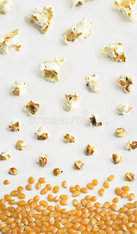 Popcorn σύνθεση στοκ φωτογραφία