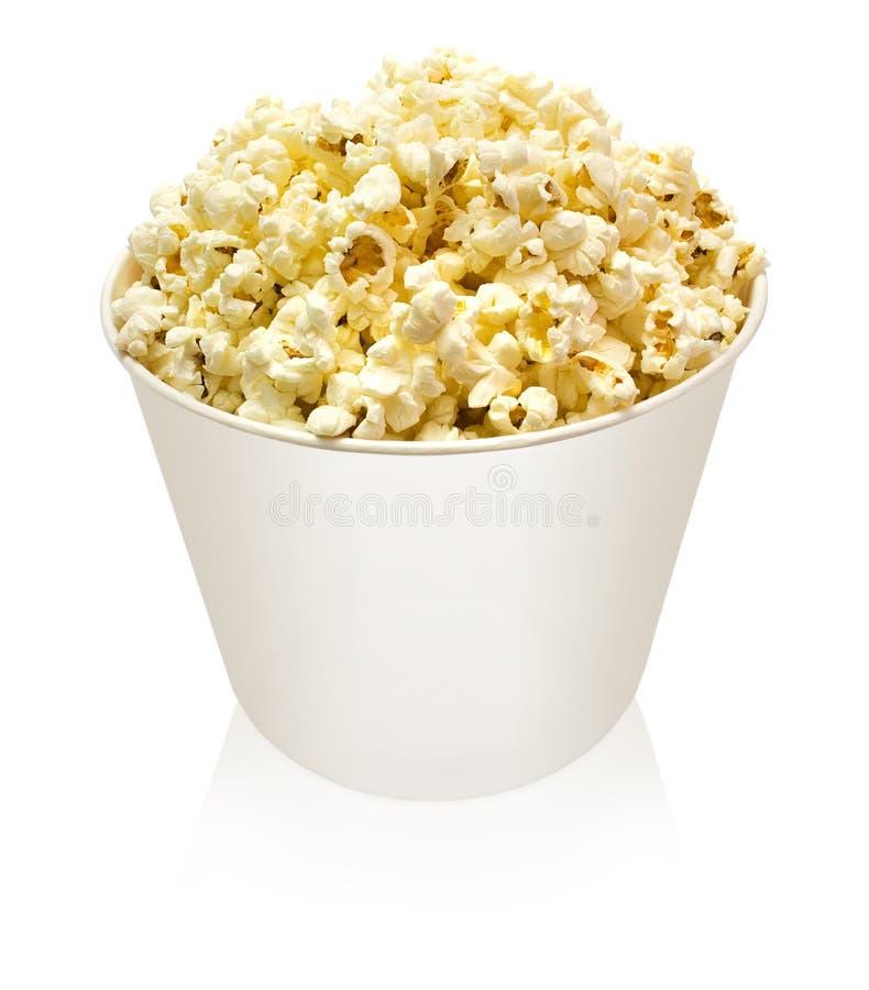 popcorn χαρτοκιβωτίων στοκ εικόνες