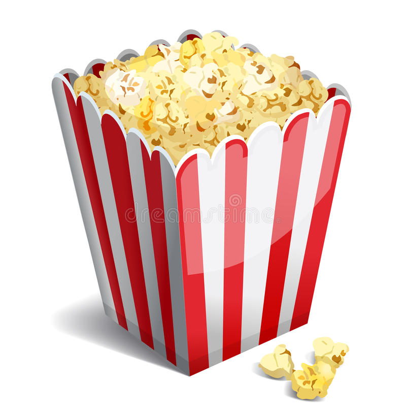 Popcorn royalty illustrazione gratis