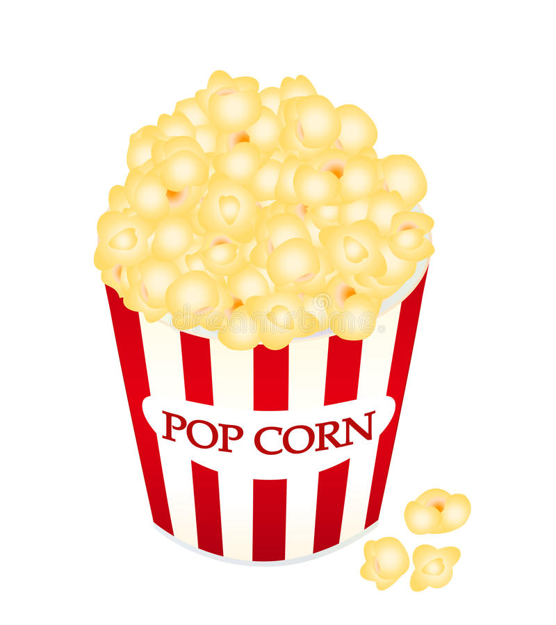 Popcorn illustrazione di stock