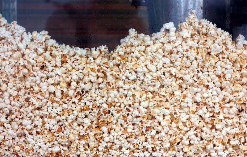 Popcorn. Close up shot of popcorn royalty free stock image