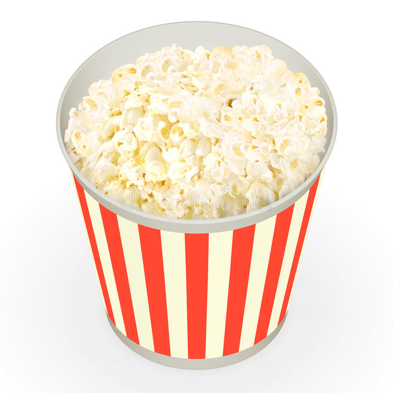 Download Popcorn stock image. Image of cinema, buttered, treat - 18383931