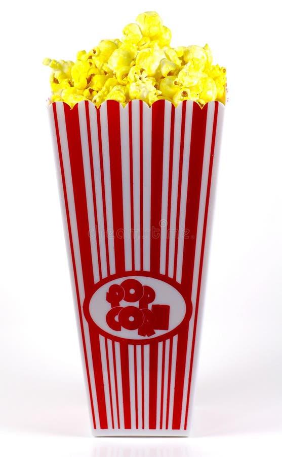 popcorn 2 κάδων στοκ εικόνα με δικαίωμα ελεύθερης χρήσης