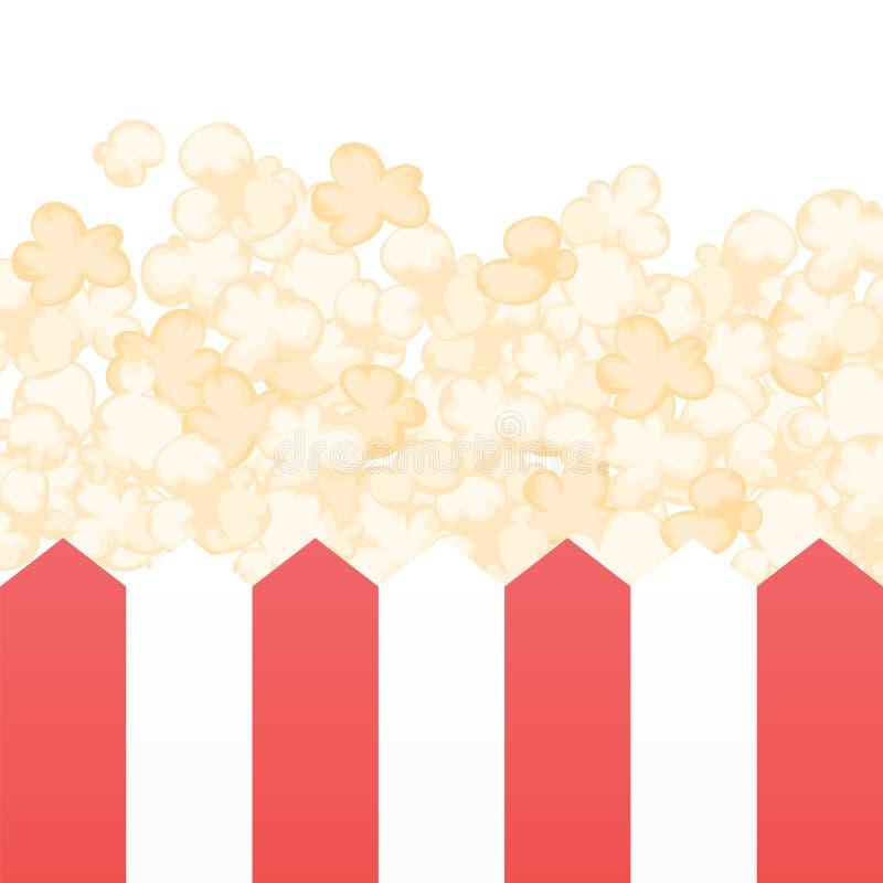 Download Popcorn stock vector. Illustration of brightly, crunchy - 24188267