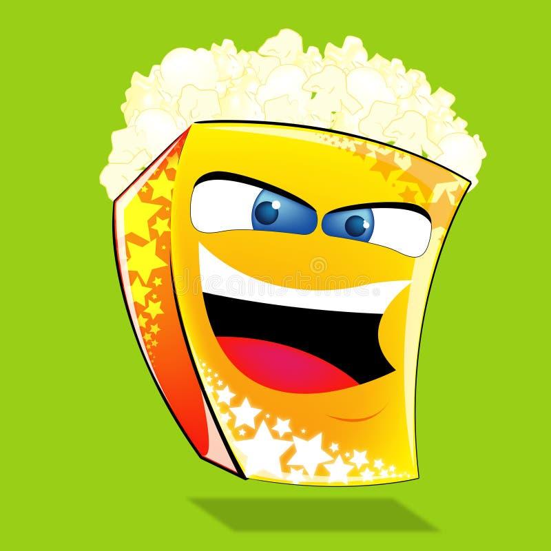 popcorn ilustracji