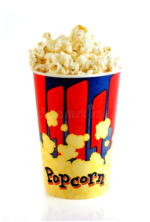 Download Popcorn stock photo. Image of corn, kernels, isolated - 3221442