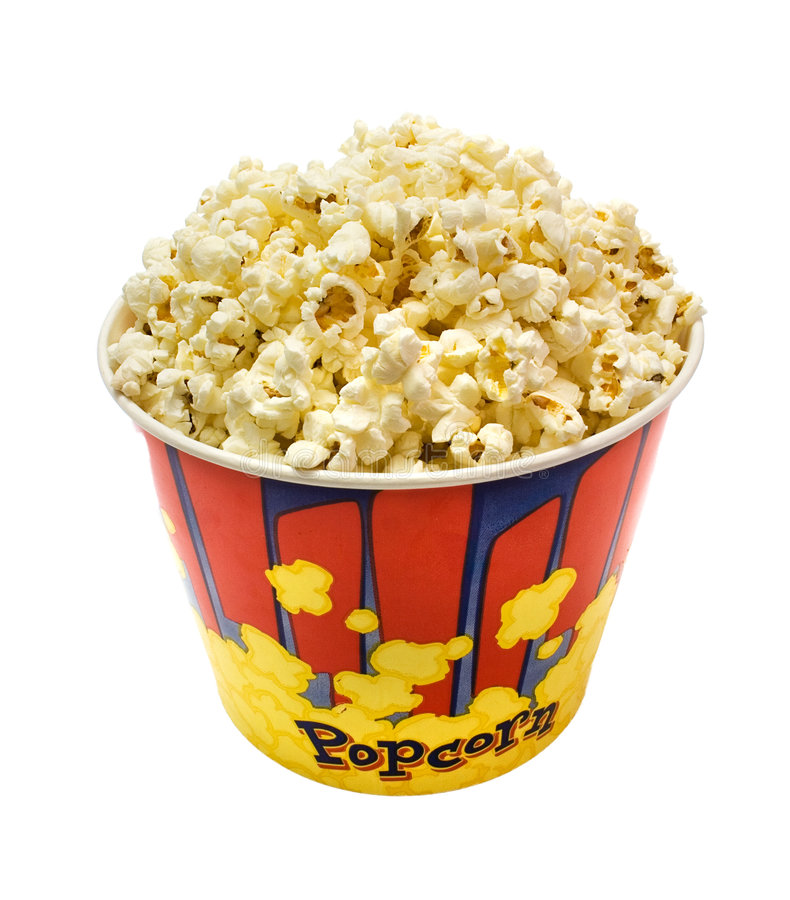 Download Popcorn stock image. Image of butter, buttered, corn, delicious - 4896163