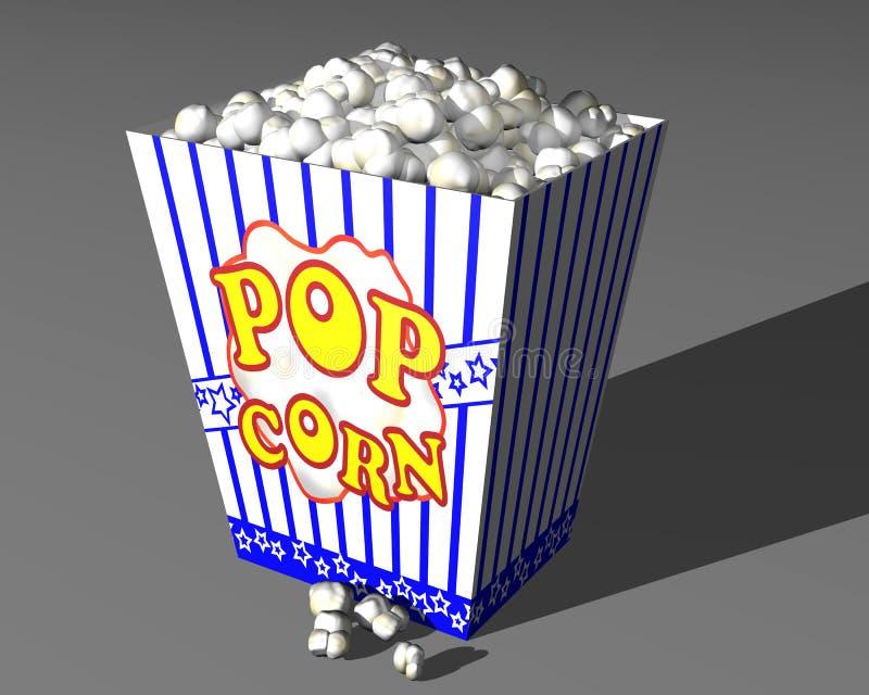 Popcorn illustrazione vettoriale