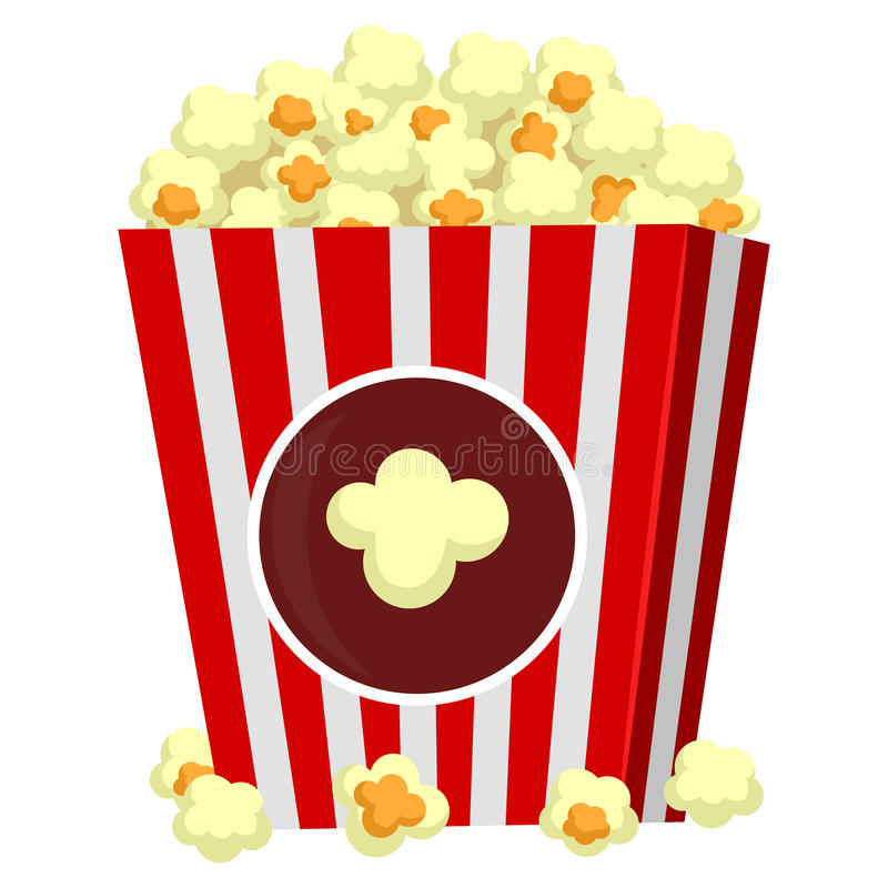 Popcorn vector illustratie