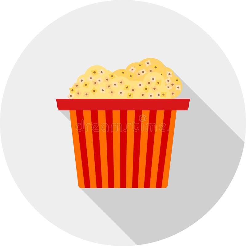 Popcorn royaltyfri illustrationer