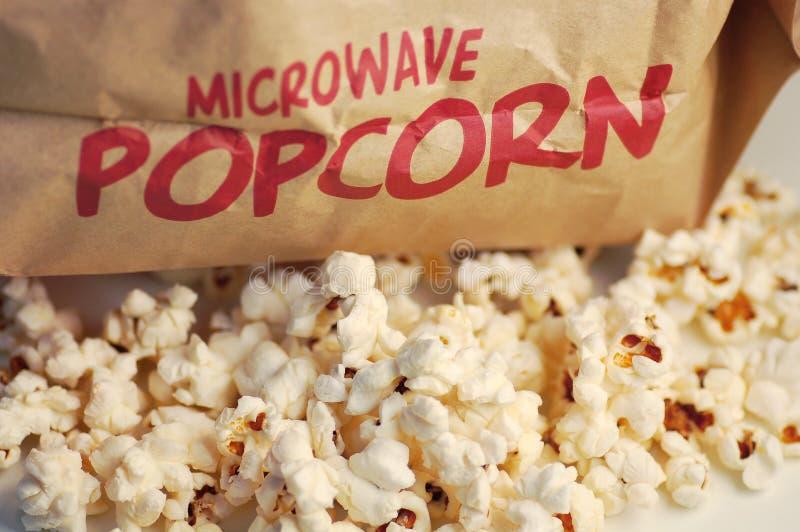 Popcorn stockbilder