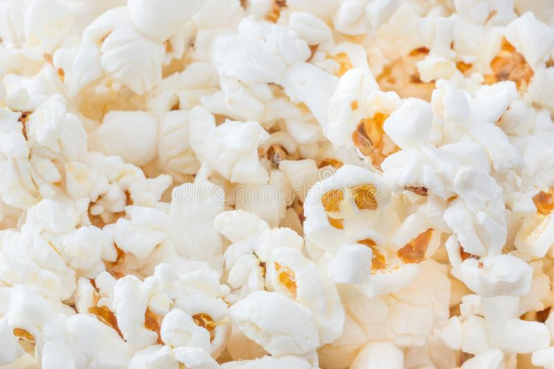 Popcorn as background. royalty free stock photo