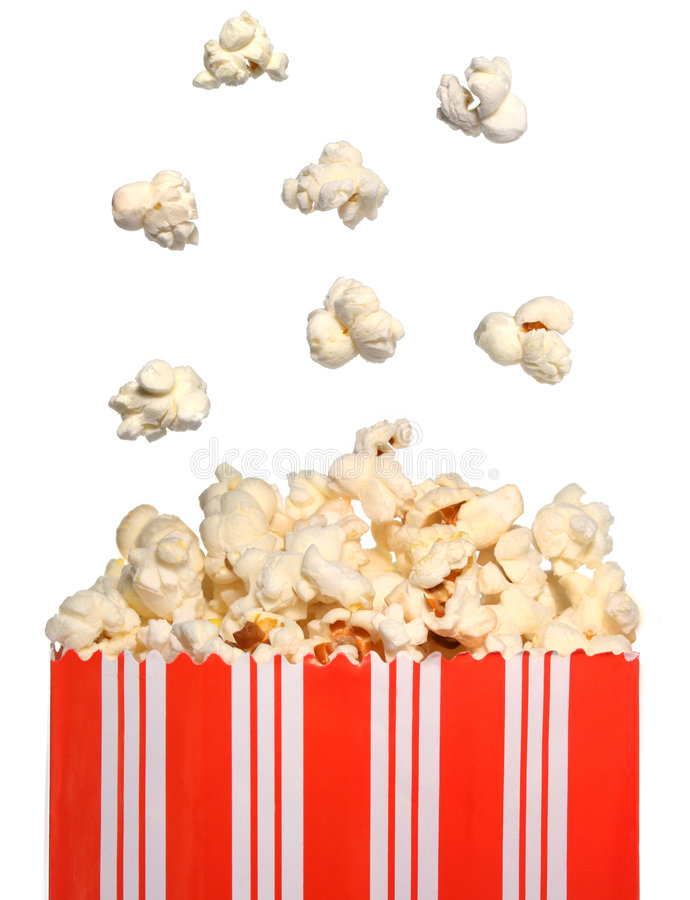 Download Popcorn bag stock image. Image of delicious, junk, popping - 5829185