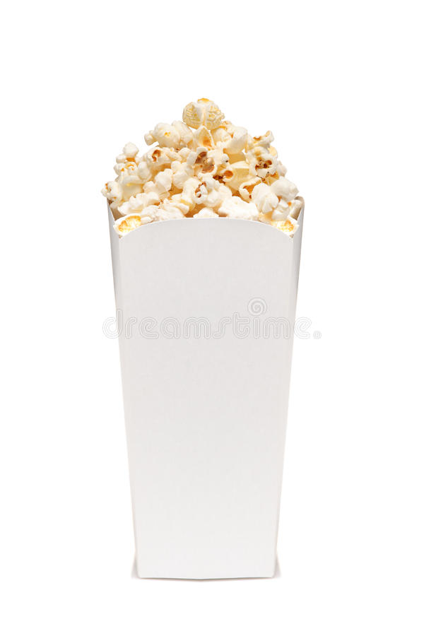Popcorn in box royalty free stock images